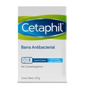 Barra Antibacterial Cetaphil Cara Y Cuerpo X 127 Gr
