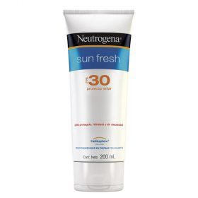 Protector Solar Neutrogena Sun Fresh Fps30 Crema X 200 Ml