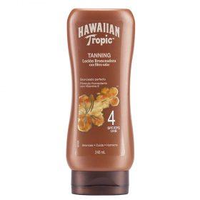 Loción Bronceadora Hawaiian Tropic Tanning Fps4 X 240 Ml