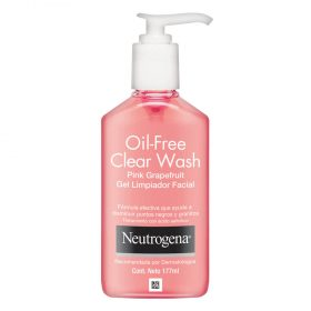 Gel Limpiador Facial Neutrogena Clear Wash X 177 Ml