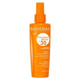 Fotoprotector Bioderma Photoderm Bronz Spray Spf 30 X 200 Ml