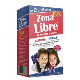 Zona Libre Kit Loción + Repelente Para Liendres Y Piojos
