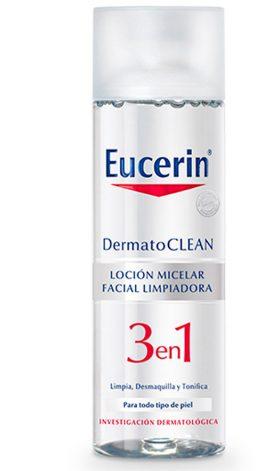 Eucerin Dermatoclean Loción Micelar Limpiadora 3en1 X 200 Ml