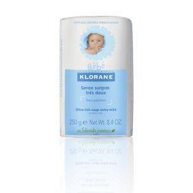 Jabón Hidratante Klorane Bébé Suave X 250 Gr