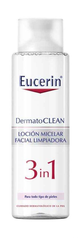 Eucerin Dermatoclean Loción Micelar Limpiadora 3en1 X 400 Ml