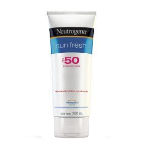 Protector Solar Neutrogena Sun Fresh Fps50 Crema X 200 Ml