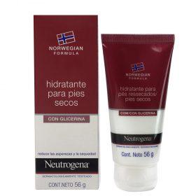 Crema Hidratante Neutrogena C/ Glicerina Pies Secos X 56 Gr