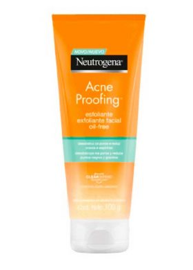 Gel Exfoliante Neutrogena Acne Proofing X 100 Ml