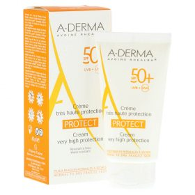 Protector Solar Aderma Protect Crema Spf 50+ X 40 Ml