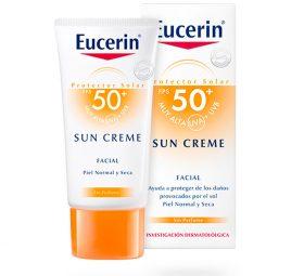 Protector Solar Eucerin Sun Crema Fps 50+ X 50 Ml