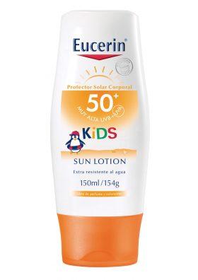 Protector Solar Eucerin Sun Kids Loción Fps 50+ X 150 Ml