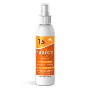 Acelerador De Bronceado Bagovit Solar Fps15 Spray X 200 Gr