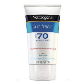 Protector Solar Neutrogena Sun Fresh Fps70 Crema X 120 Ml