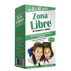 Zona Libre Crema De Enjuague Para Liendres Y Piojos