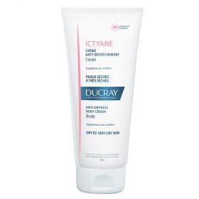 Crema Hidratante Ducray Ictyane Piel Seca X 200 Ml