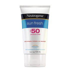 Protector Solar Neutrogena Sun Fresh Fps50 Crema X 120 Ml