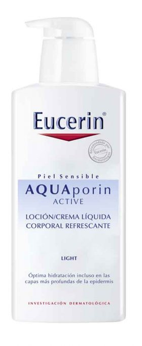 Eucerin Aquaporin Active Light Loción Corporal X 400 Ml