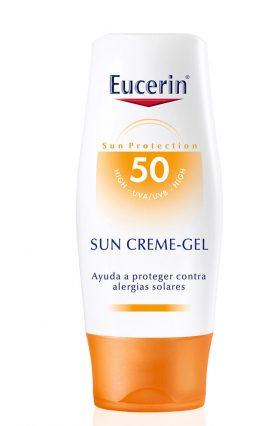 Protector Solar Eucerin Sun Crema Gel Fps50 X 150 Ml