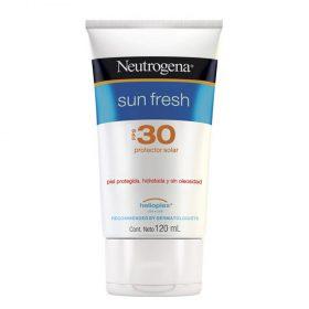 Protector Solar Neutrogena Sun Fresh Fps30 Crema X 120 Ml