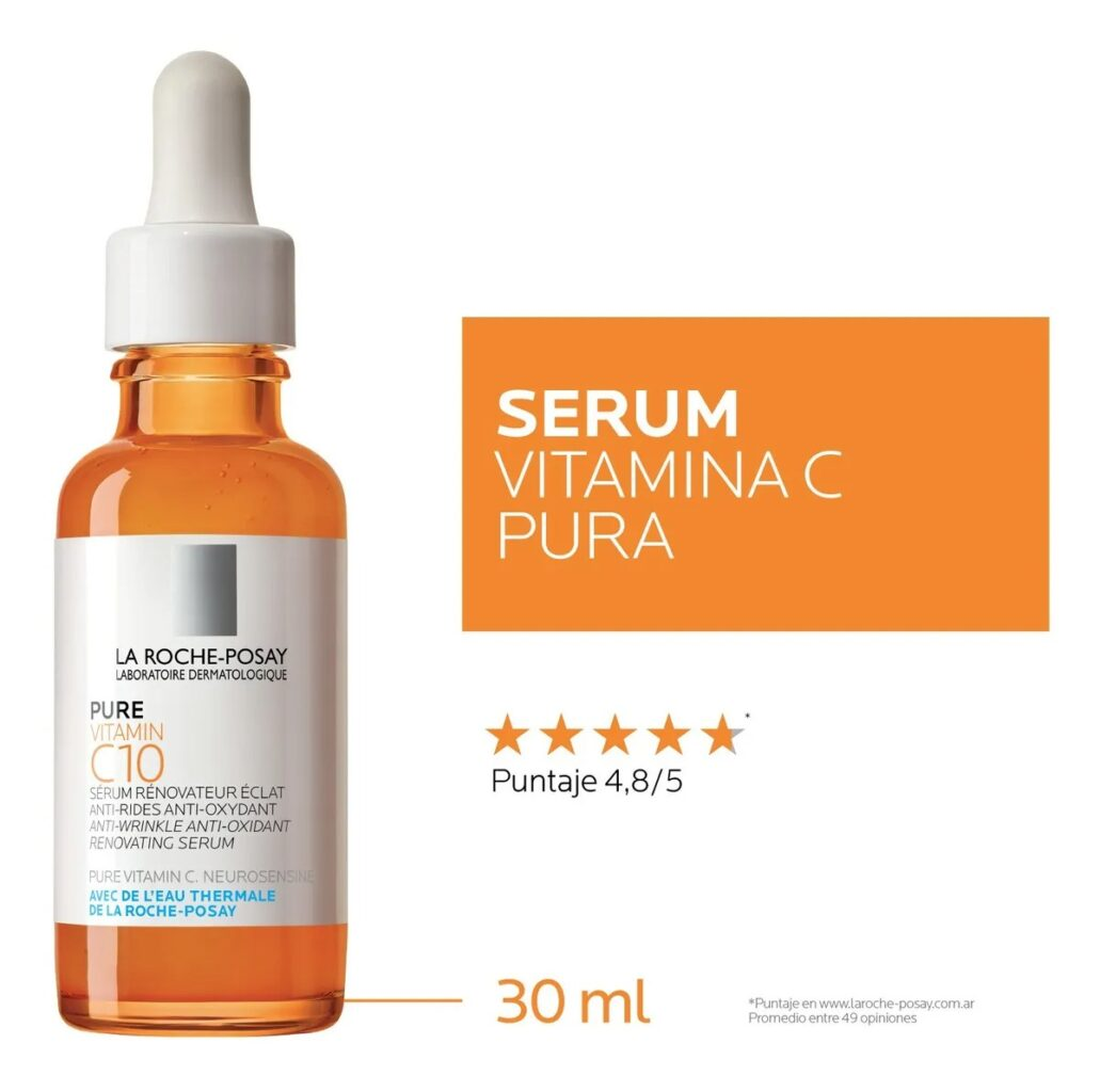 Pure Vitamin C10 Serum Antioxidante Antiedad X 30 Ml Selma Digital