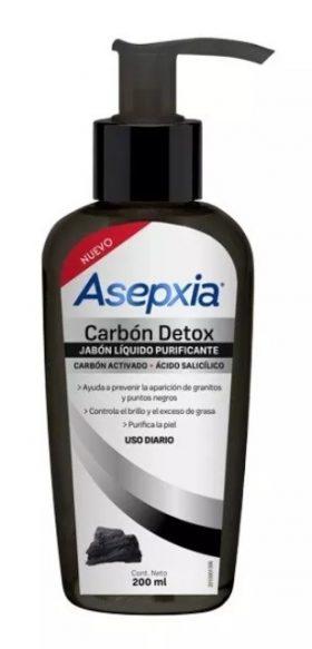 Jabon Liquido Carbon Detox X 200ml