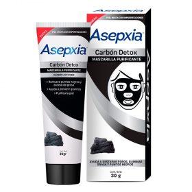 Mascarilla Detox Carbon 30 gramos